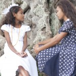 Young Beatriz and Young Teresa