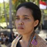 Irim Tolentino as Beatriz in 'A Guerra da Beatriz'